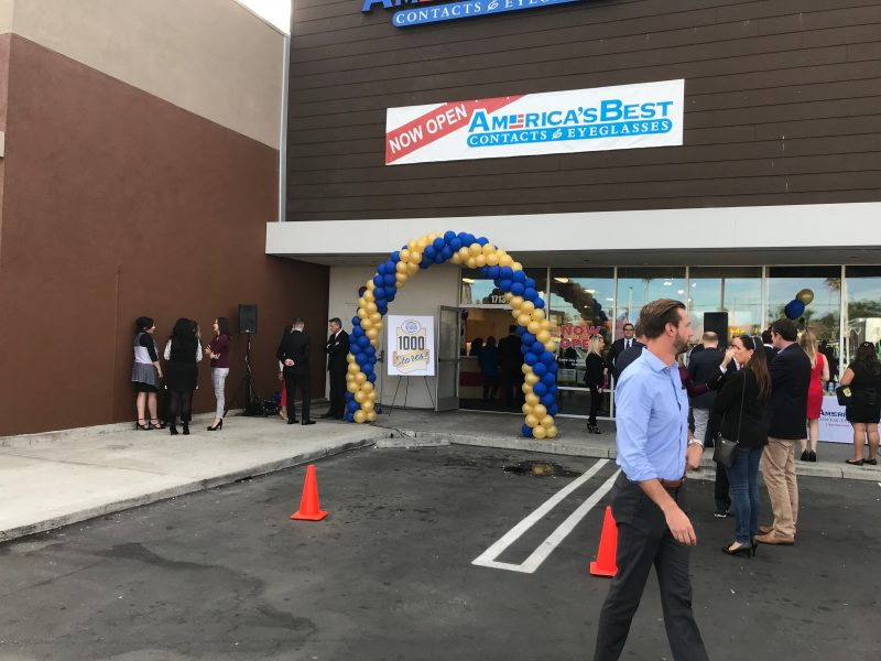 National Vision Celebrates Milestone with 1,000th Retail Location at Western Plaza Shopping Center